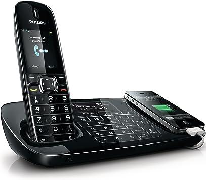 Philips SE8881B/23 - Teléfono fijo inalámbrico, color negro: Amazon.es: Electrónica