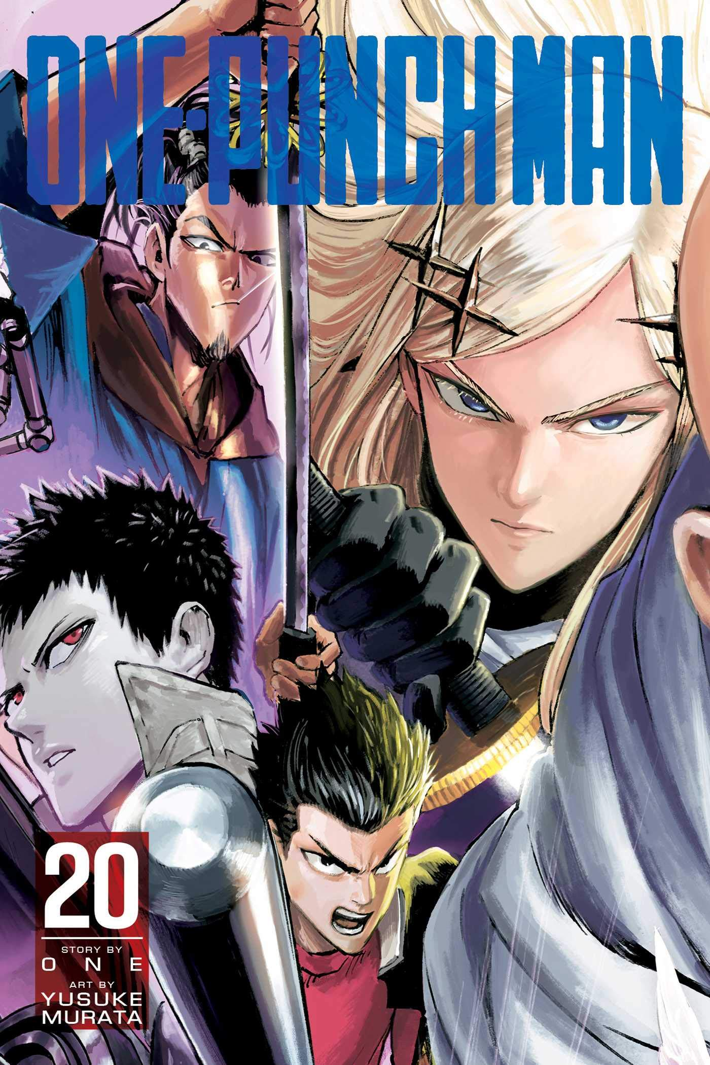 Amazon Opens Pre-Orders For One-Punch Man Manga Vol. 20