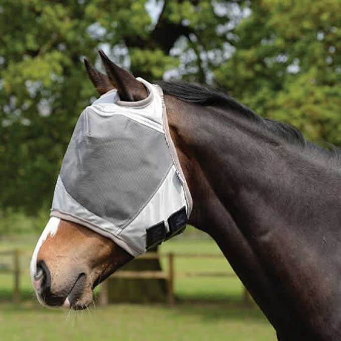 Masta - Mascara UV para moscas para caballo (Extra full/Plata)