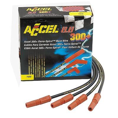 Accel Spark Plug 8.8Mm 300+ Race Wire Universal Fit: Automotive
