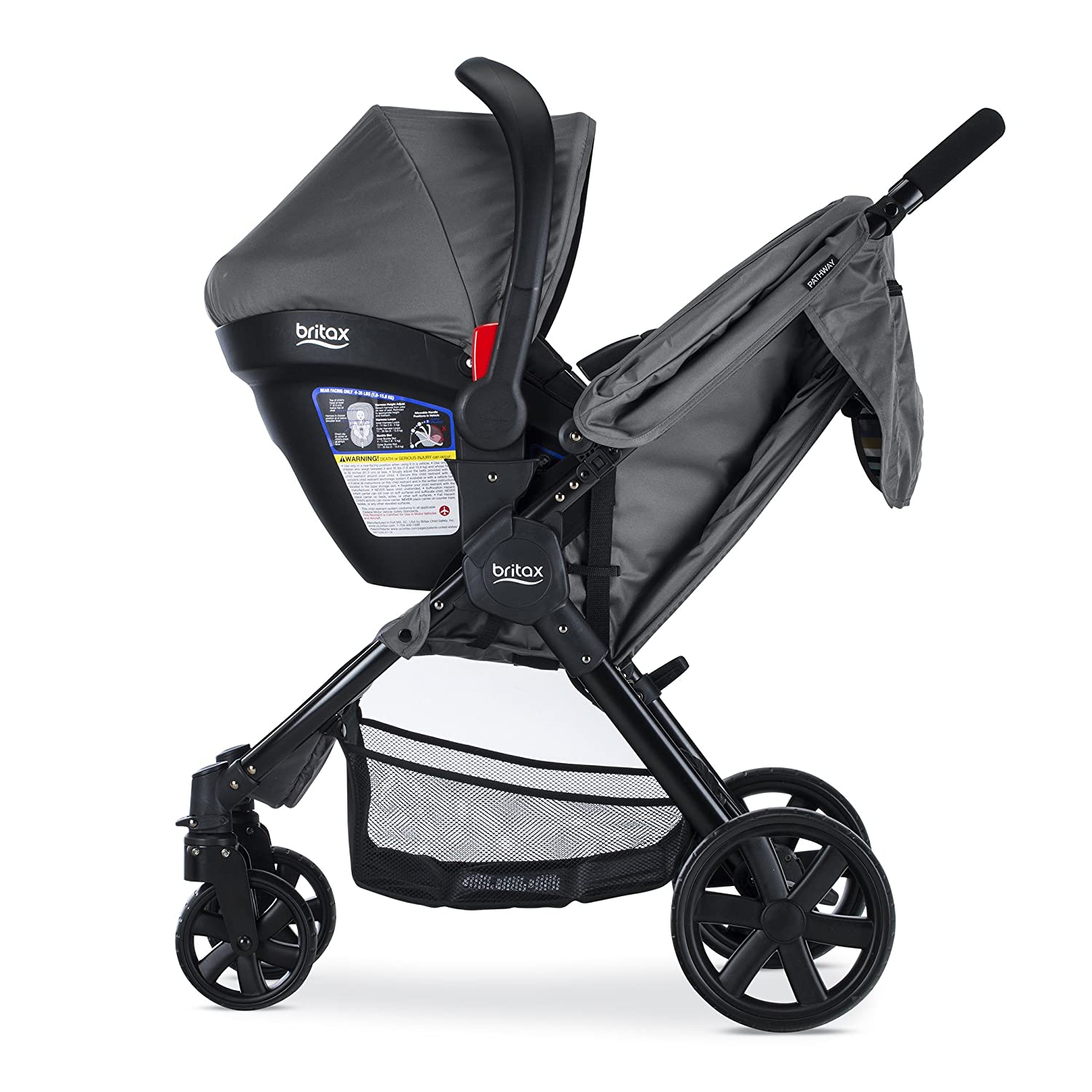 Britax Pathway /& B-Safe 35 Travel System Sketch with Extra Base