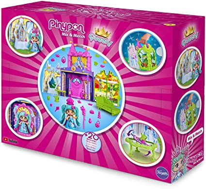 Pinypon Queen Castle Figurines Toys 700015574