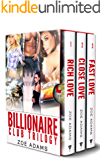 Billionaire Club Trilogy: Books 1-3