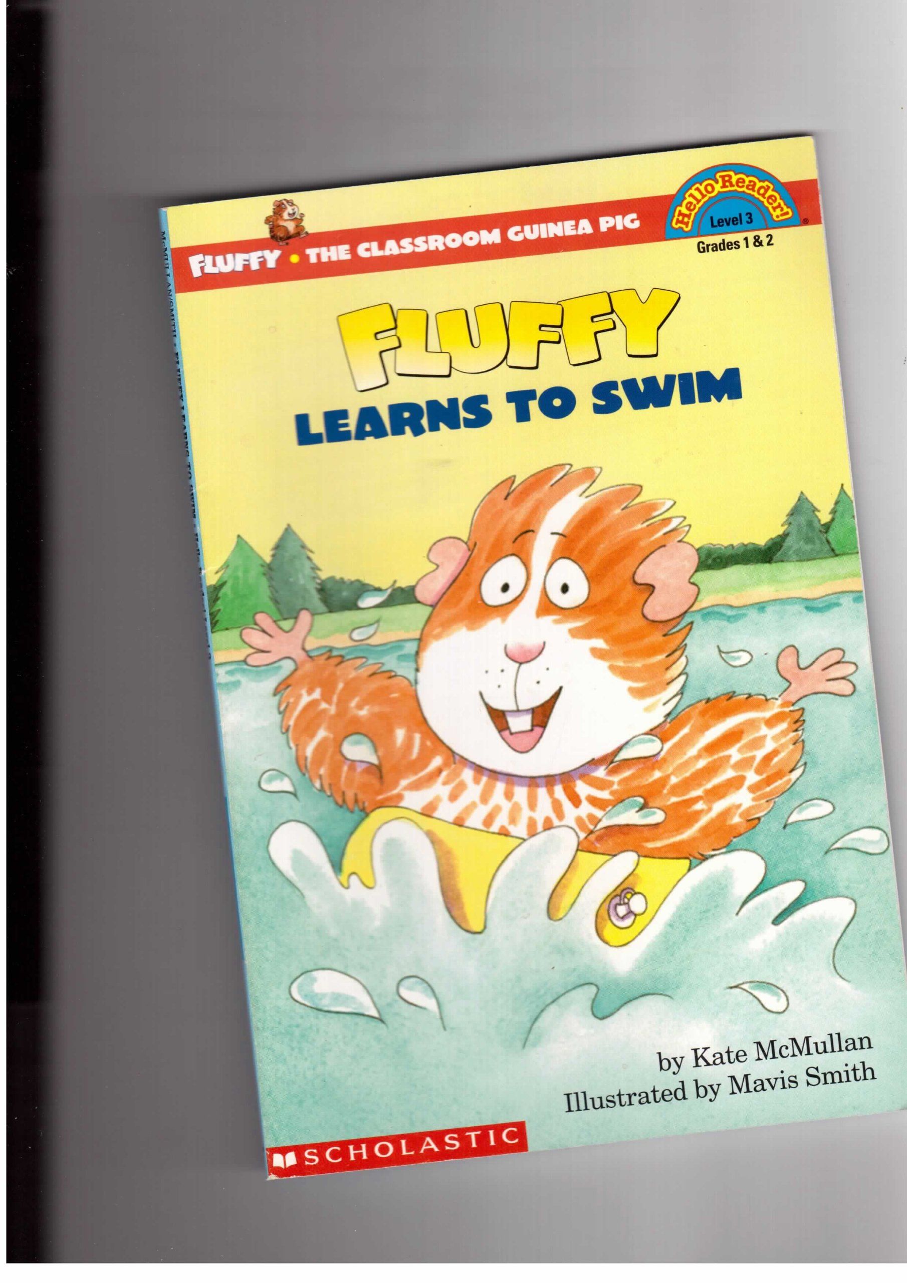Fluffy Learns to Swim HELLO READER LEVEL 3 Kate McMullan Mavis