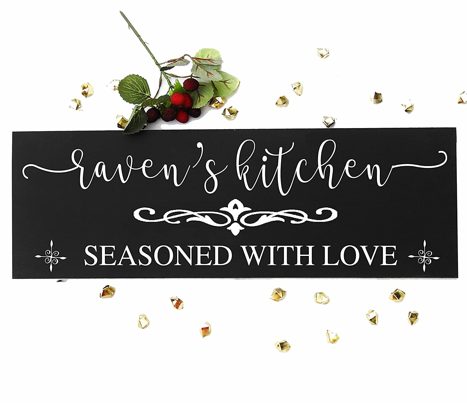 Amazon Com Personalized Kitchen Signs Gifts Decor Items