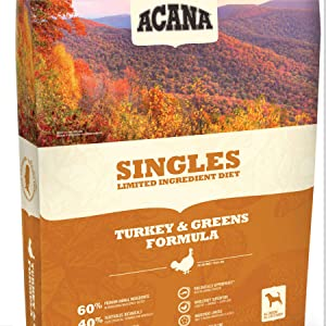 Acana Single Limited Ingredient Diet Dog Food – Turkey and Greens Formula