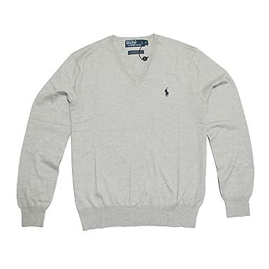 a35f7151b9a0b (ポロ ラルフローレン)POLO RALPH LAUREN セーター Pima Cotton V-Neck Sweater ライト