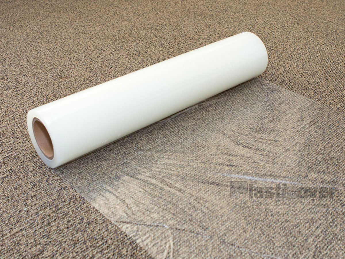 NEW! iPackBoxes - Carpet Protection - Clear - 24 inch by 200 Feet