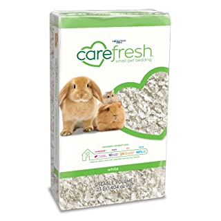 Carefresh White Small pet Bedding, 23L (Pack May Vary)