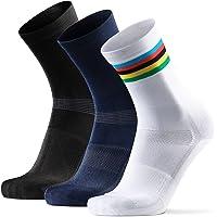 Calcetines de Ciclismo Altos para Hombres y Mujeres, Calcetines Deportivos de Bicicleta, Acolchados, Transpirables, para…