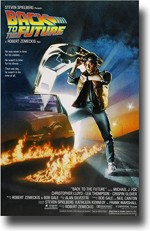 """BACK TO THE FUTURE 3 MOVIE POSTER 12/"""" x 18/"""""""