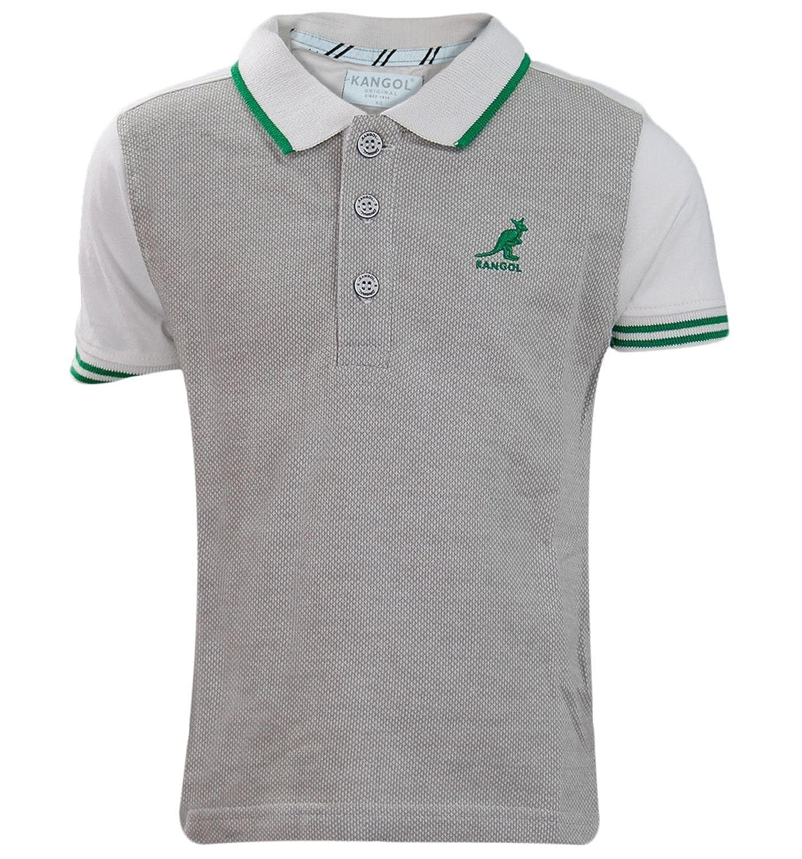 New Jungen Polo-Hemd Genuine Kangol Branded Kragen für Kinder Freizeitkleidung Kinder Top