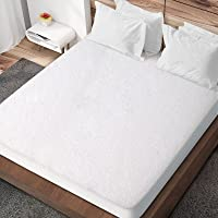 Giselle Bedding Waterproof Mattress Protector - Bamboo Fabric Mattress Cover with 35cm Elastic Tight Fit Skirt - Single…
