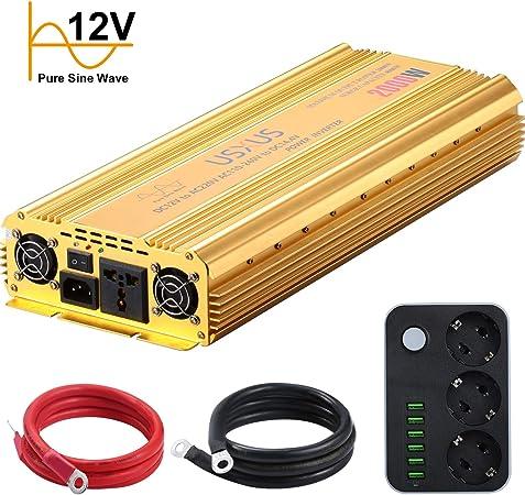 Wechselrichter 2000w Usxus 2000w Reiner Sinus Elektronik
