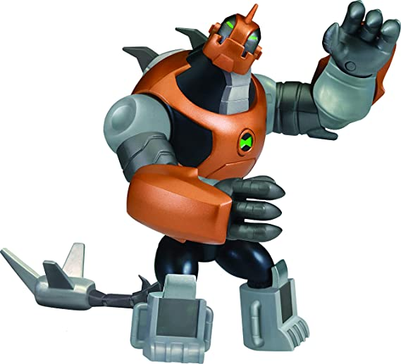 Omni-Kix Armor Heatblast Ben 10 Action Figure 5.5/""