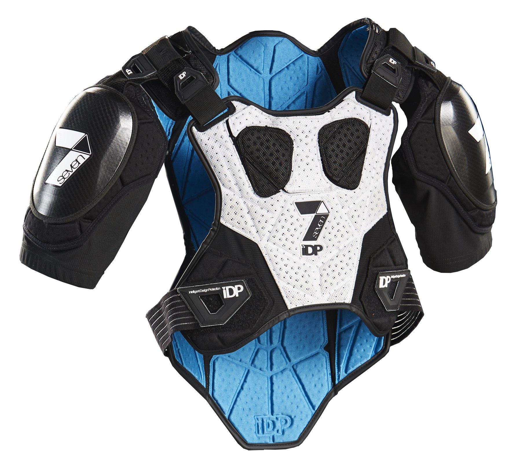 7iDP Control Body Protection, Black, Large/X-Large