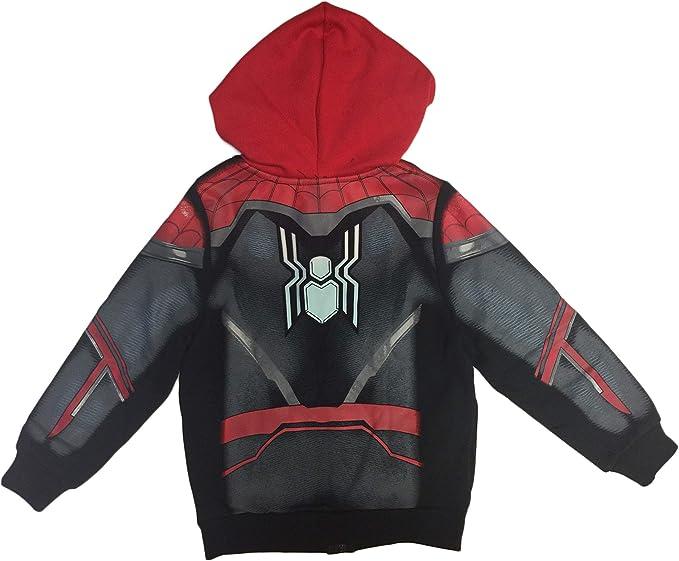 Spiderman Marvel Little Boys Costume Hoodie