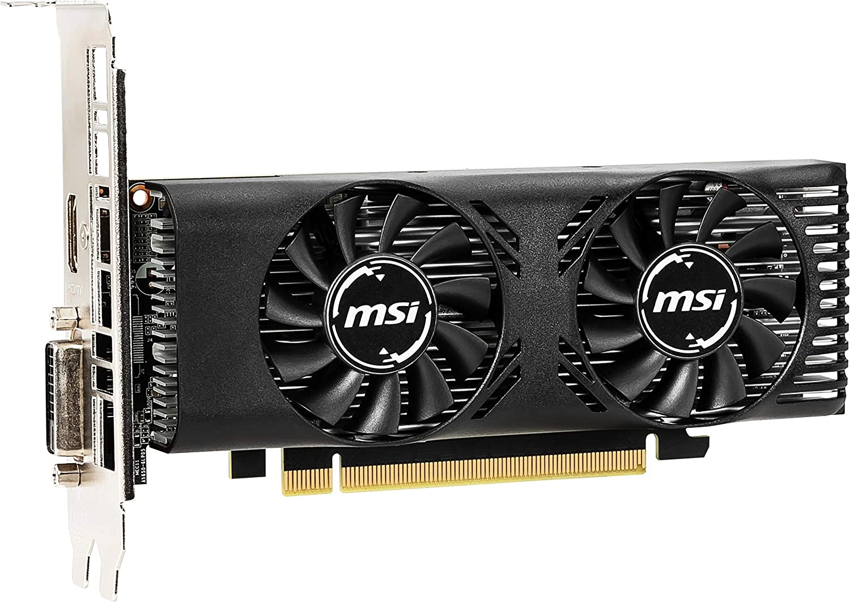 Amazon.com: Tarjeta gráfica MSI GeForce GTX 1650 4GT LP OC ...