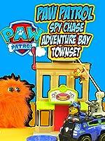 PAW PATROL Spy Chase Adventure Bay Townset