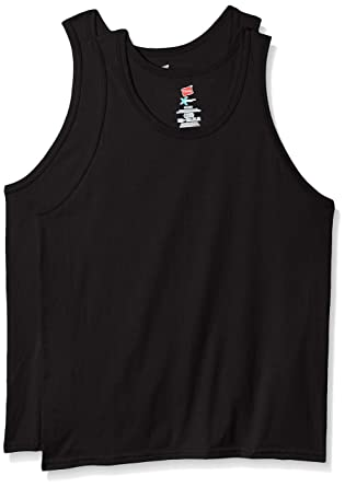 d170326dec03c Hanes Men s X-Temp Tank Top 2 Pack at Amazon Men s Clothing store
