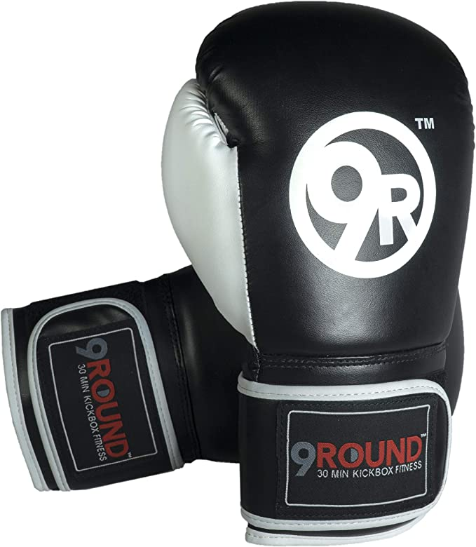 Black Sunny Days Entertainment 9Round Fitness 150 Inch Hand Wraps for Men and Women 320198 Boxing Wrist Wraps for Training at Home