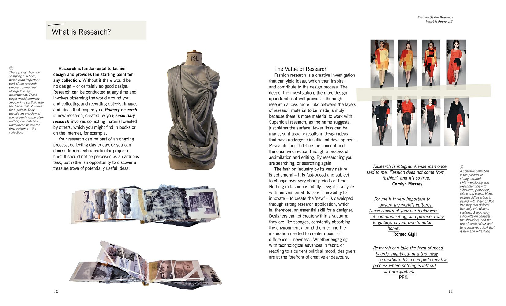 Fashion Design Research Lance Publishing Studio