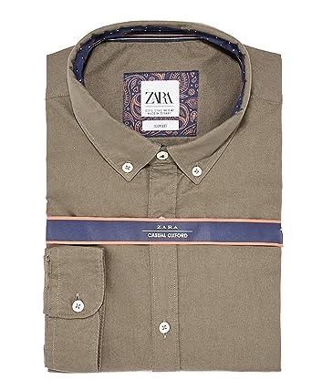 Accessoires Homme 8211310Vêtements Et Zara Chemise Oxford EHIWD29