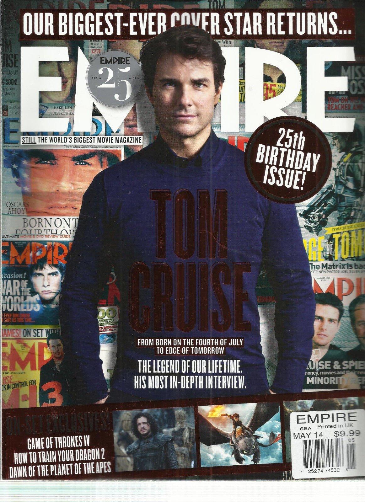 EMPIRE, MAY, 2014 ( THE WORLD'S BIGGEST MOVIE MAGAZINE * 25th BIRTHDAY ISSUE! )