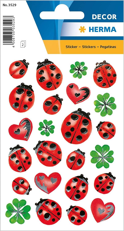 HERMA Sticker Kleeblätter Aufkleber zum Dekorieren