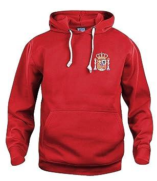 Old School Football Retro España Sudadera DE Futbol Nuevas Tallas s-3xl Logotipo Bordado - Rojo, Small: Amazon.es: Deportes y aire libre