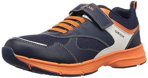B Arancioni Geox Amazon Sportive Geox Hoshiko Scarpe Blu qwPcXPO5T