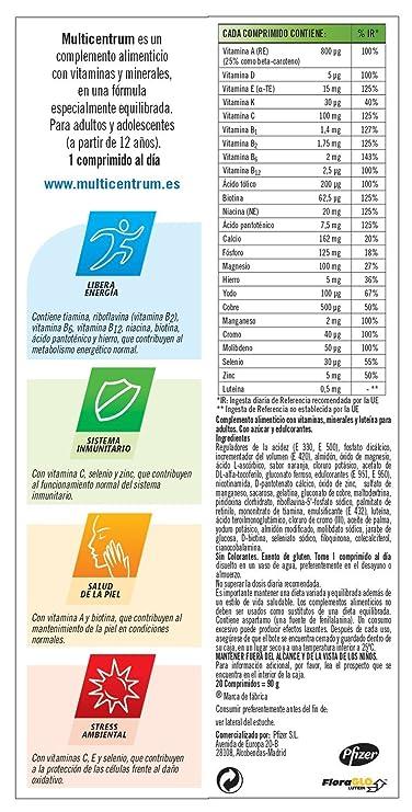 Multicentrum Efervescente - 20 comprimidos efervescentes: Amazon.es: Salud y cuidado personal