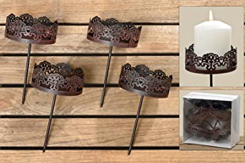 Amazonde Adventskranz Stecker Kerzenstecker Kerzenaufsatz