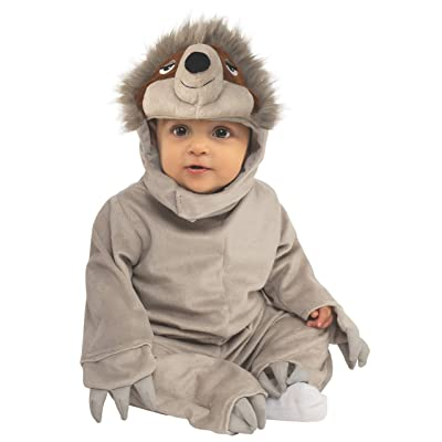 Rubie's Costume Sloth Infant Grey Animal Costume: Toys & Games