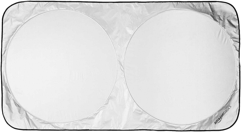 Basics - Tendina parasole per parabrezza auto, misura media AMZ1708