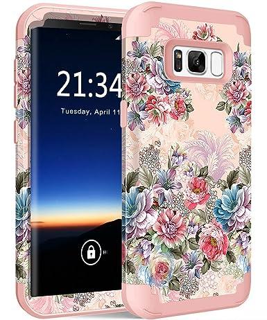 Amazon.com: Funda para Galaxy S8 SM-G950, protección de alta ...