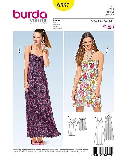 outlet store e568d e6afa Burda - Cartamodello per vestiti da donna con corpetto a ...