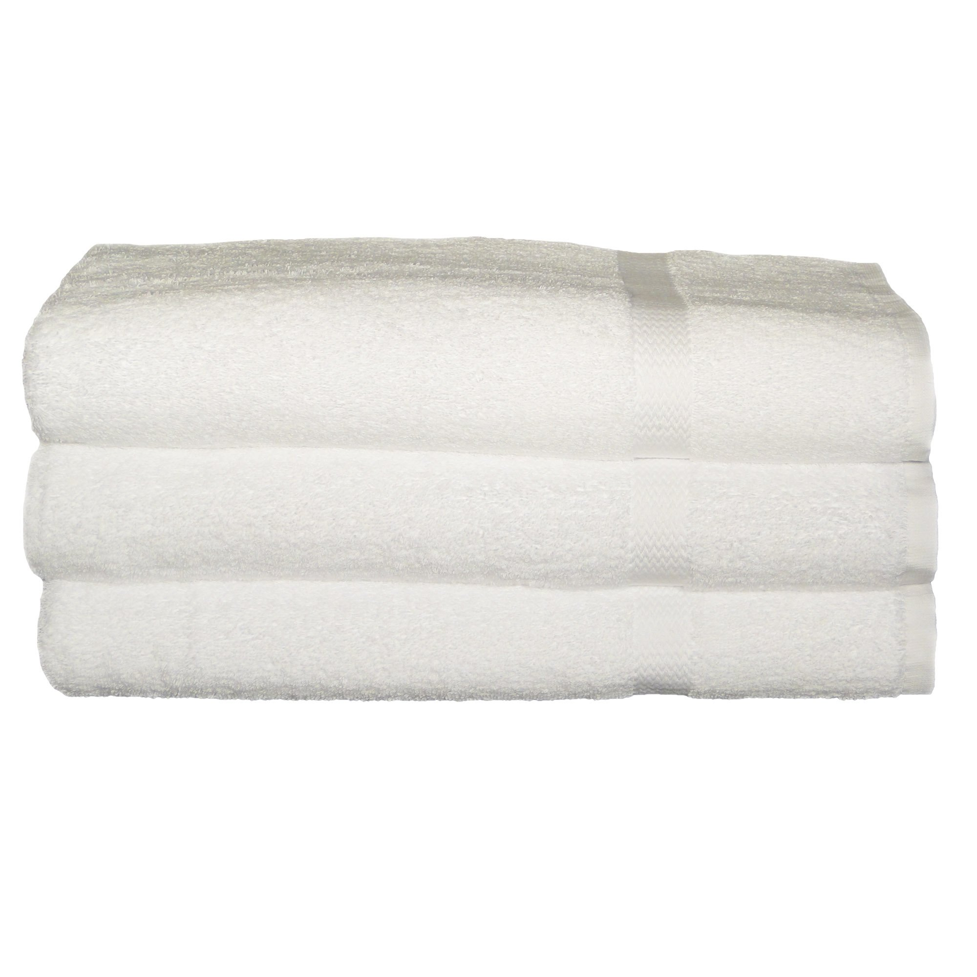 Baltic Linen   Royal Excellence100% Ring Spun Cotton Hotel Bath Sheets 35 x 70-inch White 2 Pack