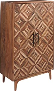 Signature Design by Ashley Gabinwell Accent Cabinet, Two-Tone Brown