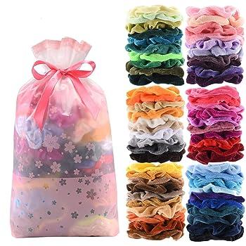 Seven Style Premium Velvet Hair Scrunchies