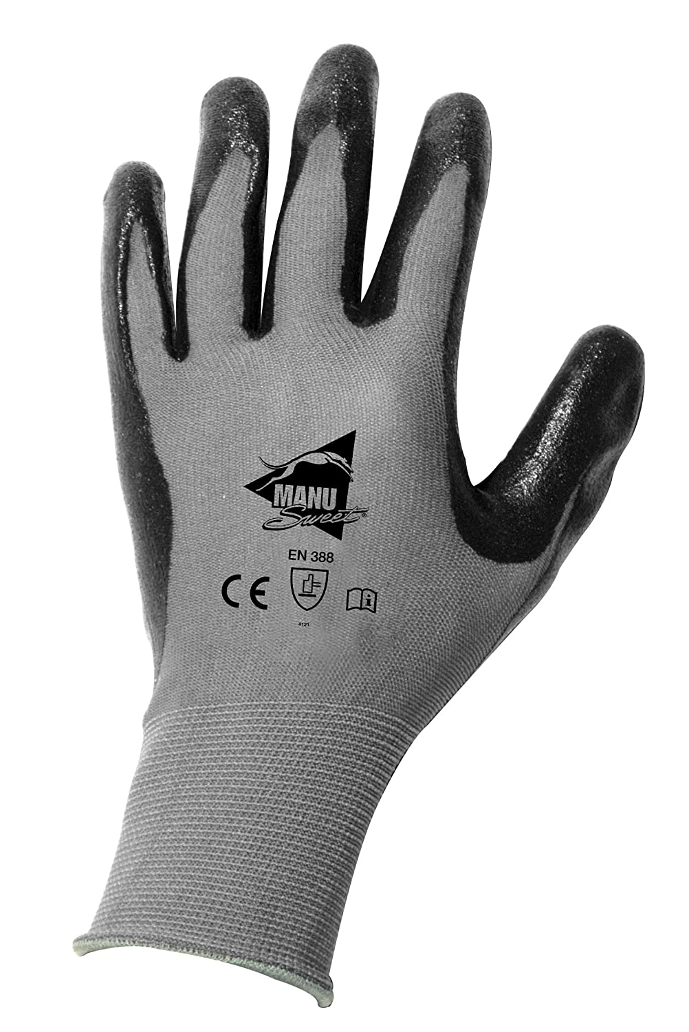 Manusweet Captain Mekanik Gants de travail Mé canique Fine Enduction Nitrile 112321