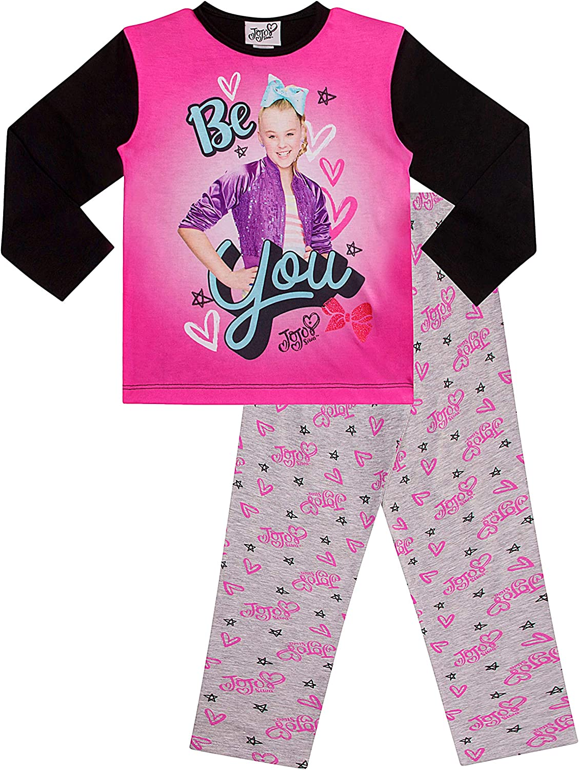 Pigiama ufficiale JoJo Siwa Be You Long Jo Jo Jo