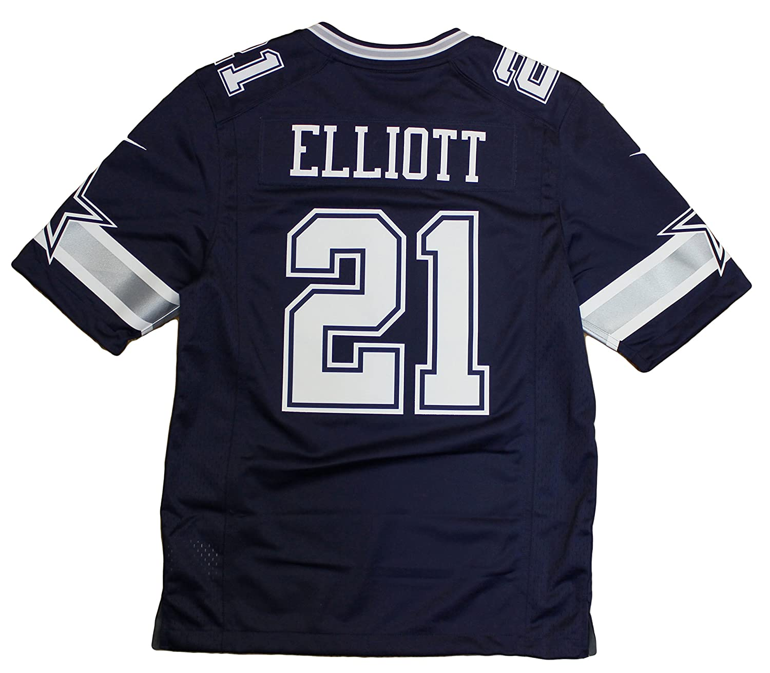 abe68cf75 Amazon.com  Dallas Cowboys Ezekiel Elliott  21 Nike Navy Limited Jersey   Clothing