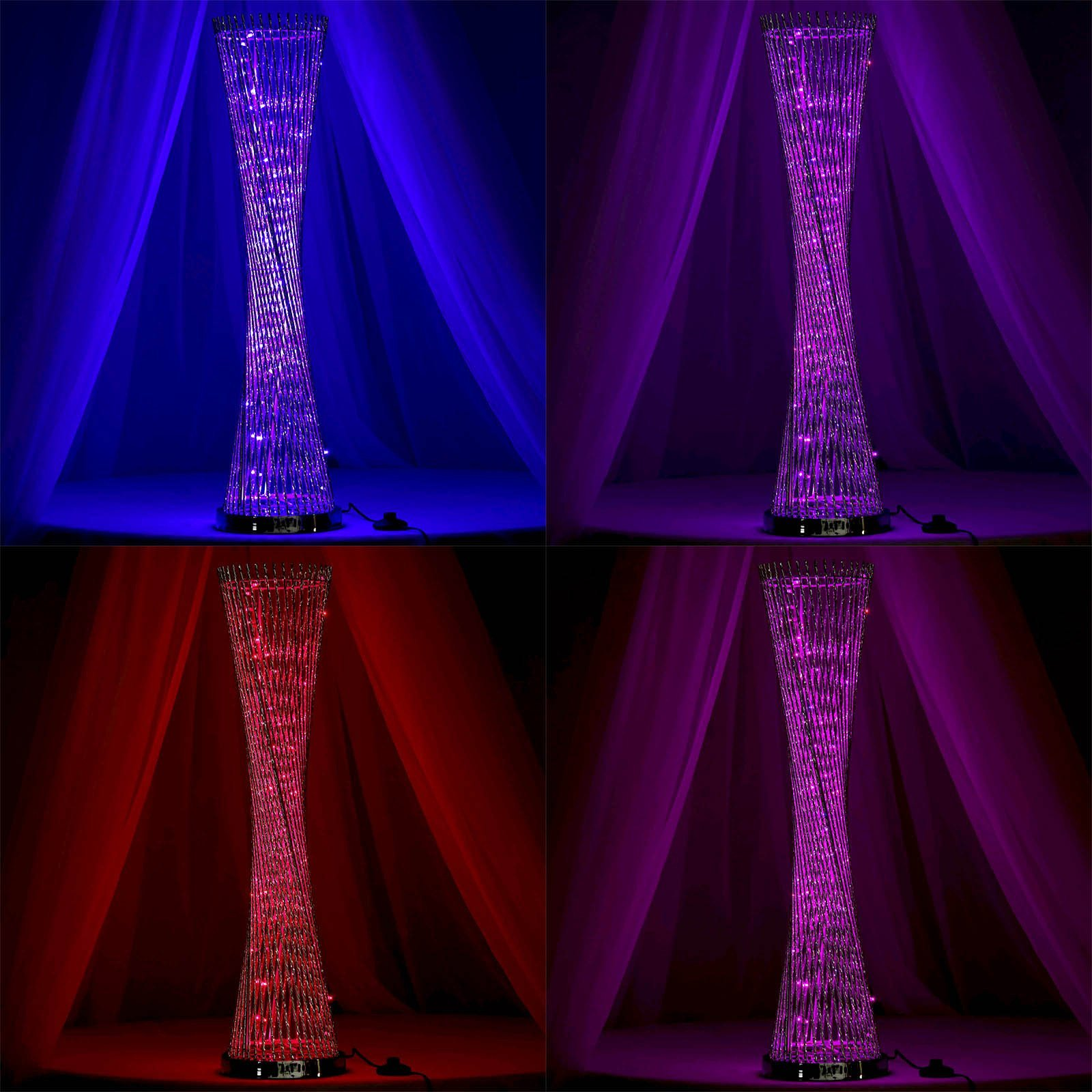BalsaCircle 39'' Spiral Tower with 75 LED Lights - Wedding Party Centerpiece Home Decorations by BalsaCircle