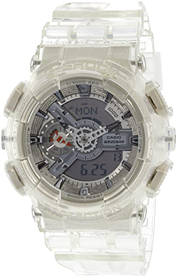 d9364e2fbae97 Casio GA110CR-7A Baby G Women s Watch White Clear 51.2mm Resin  Casio   Amazon.ca  Watches