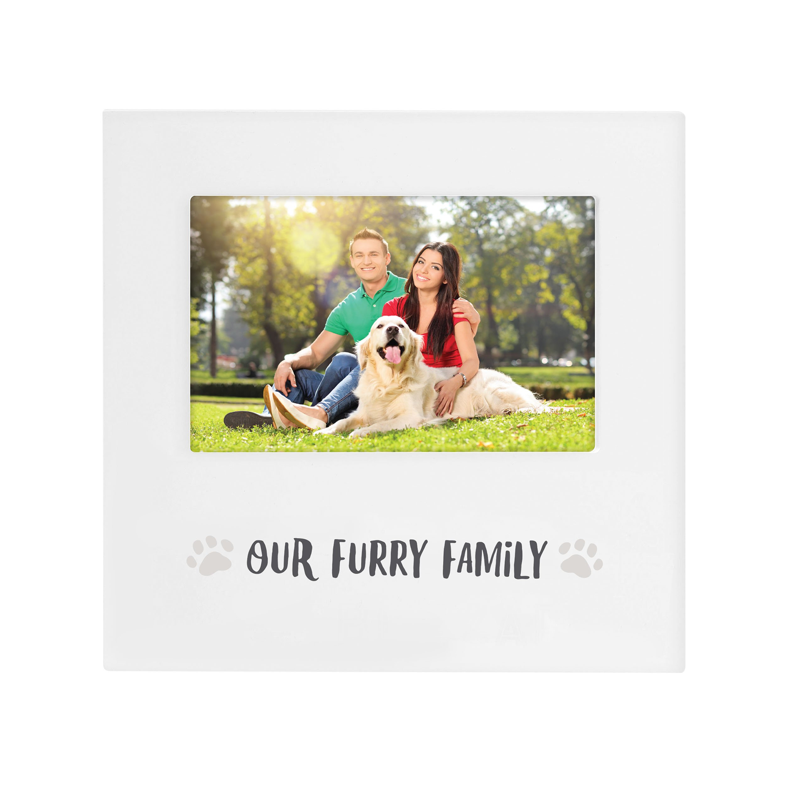 Pearhead Our Furry Family Keepsake Pet Photo Frame