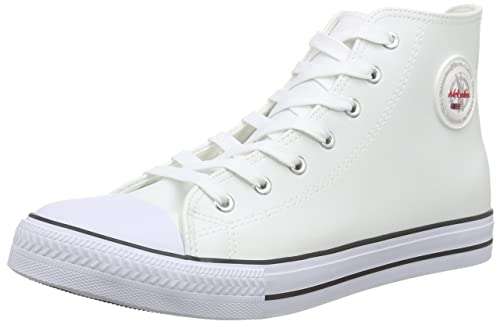 NebulusVoll-Leder-Evo - Scarpe da Ginnastica Basse Donna amazon-shoes bianco El Más Barato Msxsr
