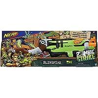 Lança Dardo Nerf Zombie Slingfire Nerf Verde