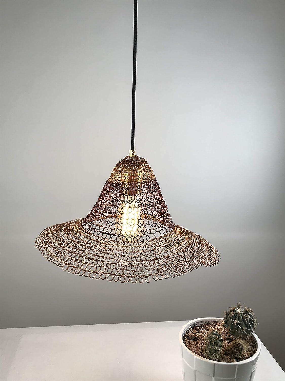 Amazon com contemporary lighting crafted lamp hanging light fixture sombrero shaped hand woven lamp handmade