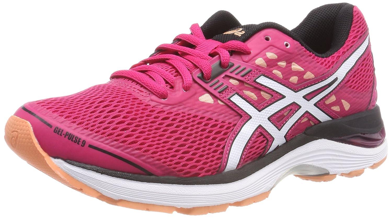 Asics Gel-Pulse 9, Zapatillas de Running para Mujer 40 EU Rosa (Bright Rose/White/Black 2101)